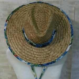 Q Headwear Women's 100% straw hat beach size M